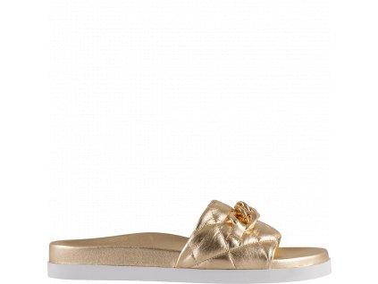 Dámské pantofle Hogl 1-100811-7200 platin