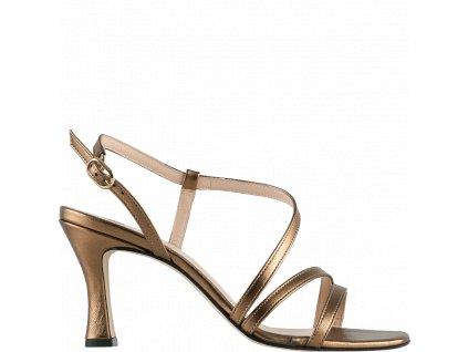 Dámské sandálky Hogl 1-107821 platinum