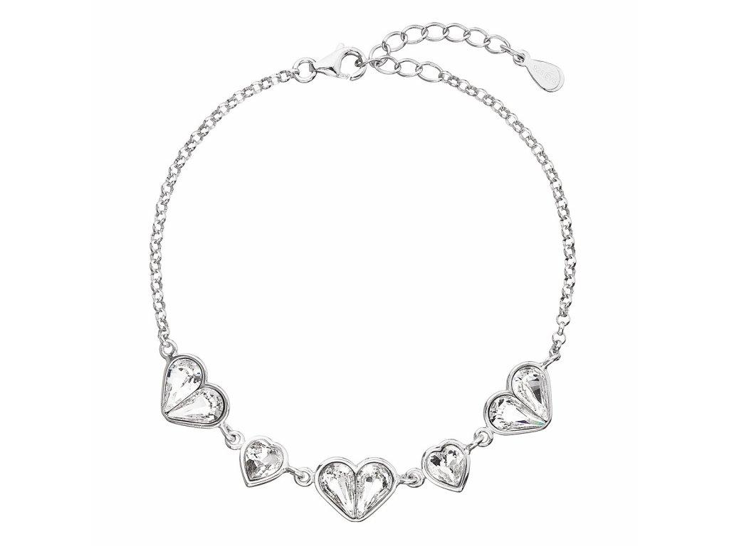 30299_stribrny-naramek-se-swarovski-krystaly-bile-srdce-33109-1