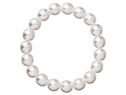 Perlový náramek bílý 56010.1