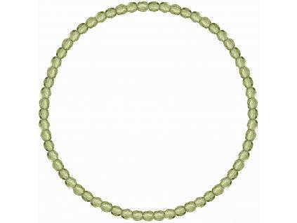Korálkový náramek zelený 73050.3