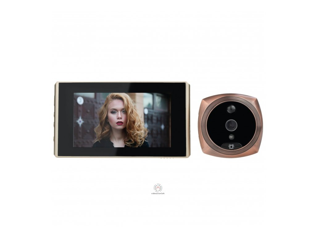 digitalni dverni kukatko ts 1603 4 3 lcd ir pir original