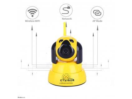vyr 762CTVISON Cheap Pan Tilt Indoor Security Camera 720p ip camera wi fi wireless motion detection alarm 1