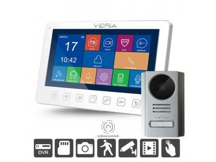 videotelefon veria 7076b 229 110 dvr funkcia 7 lcd nocne videnie original