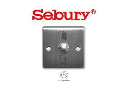 BT 004, EXIT odchodové tlačítko METAL Sebury 1100x750