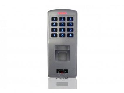 Biometrická čítačka prstov F3 s autonómnou klávesnicou, WG26, IP65