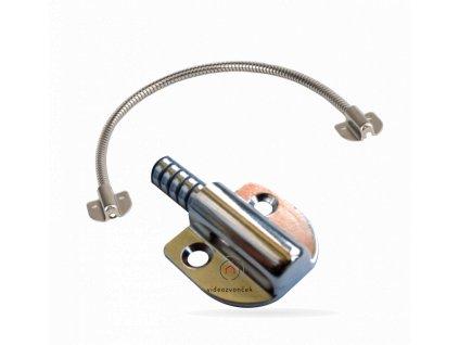 pancierova nerezova kablova priechodka na dvere abk 403b