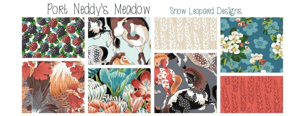 metráž, kolekce Neddy's Meadow