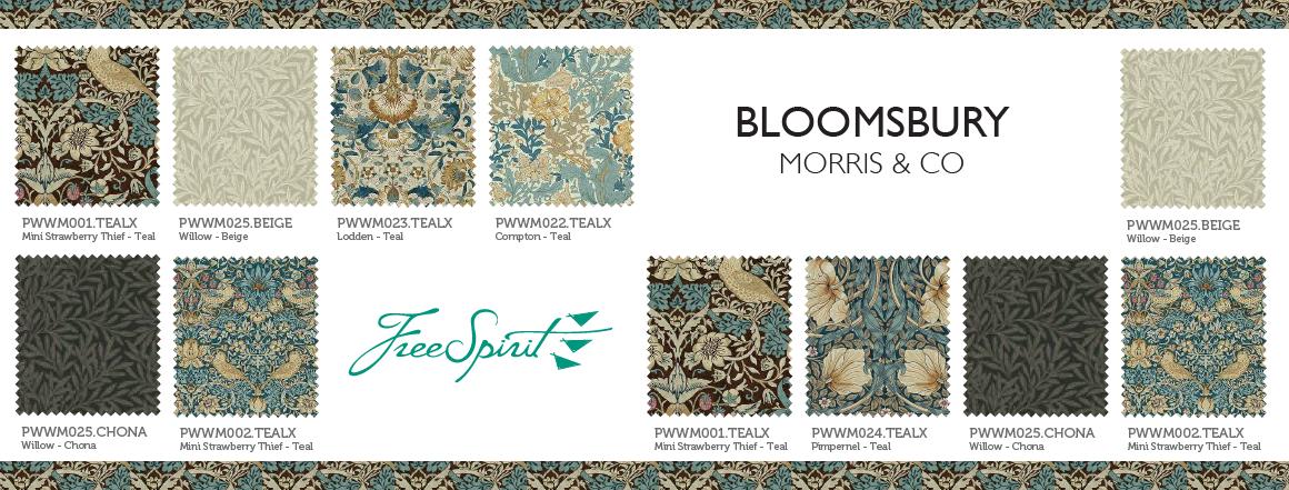 Morris & Co., kolekce látek Bloomsbury