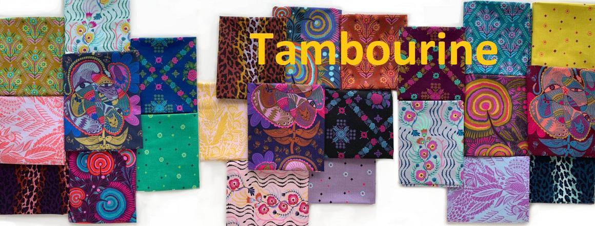 Tambourine, kolekce látek Anny Marie Horner