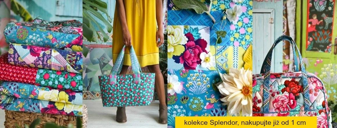 kolekce Splendor, návrhářka Amy Butler