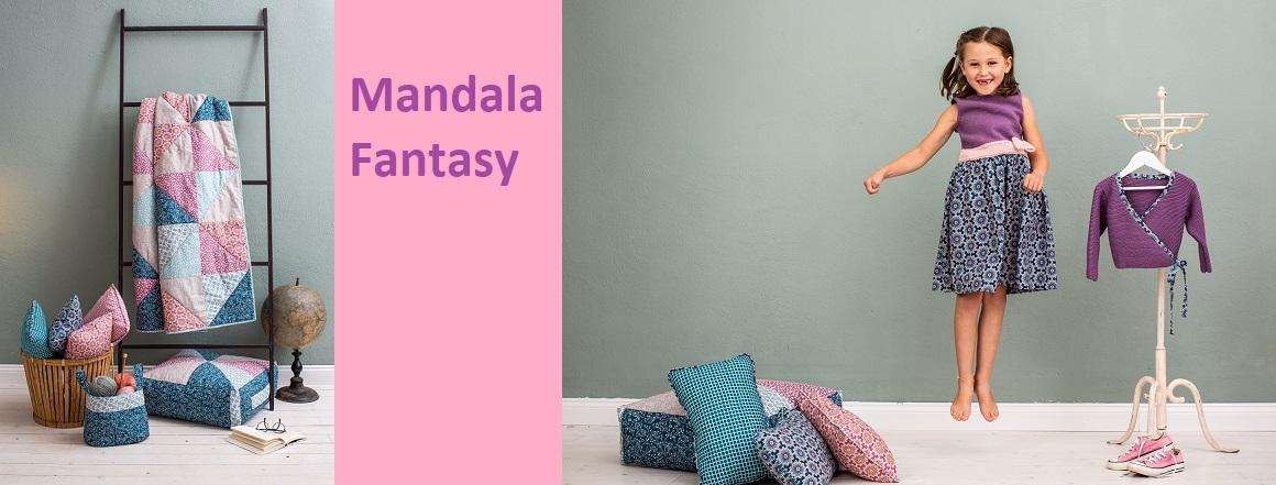 Kolekce látek Mandala Fantasy