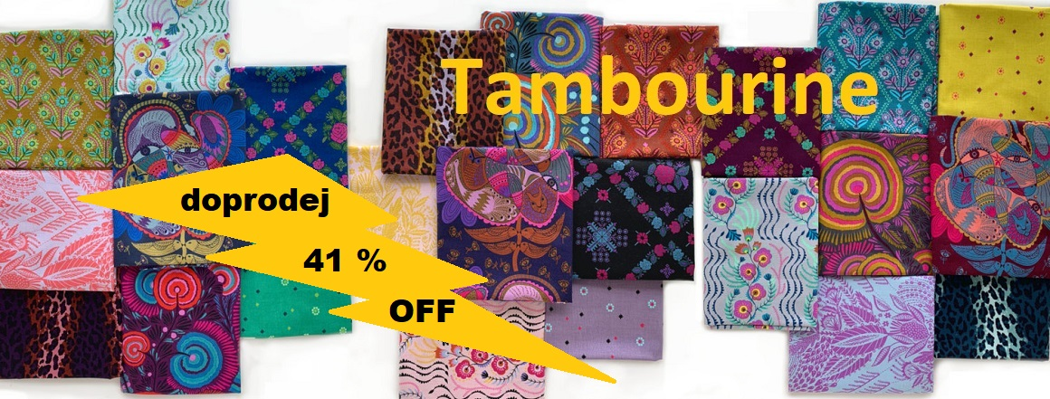 Doprodej kolekce Tambourine