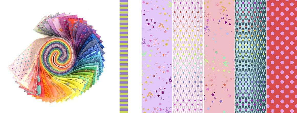 Kolekce látek Tula's True Colors