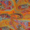 paisley jungle tangerine