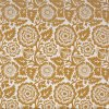 Voile Blockprint Blossom Gold