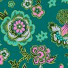CPAB0009 TEALX Midnight Bloom in Teal