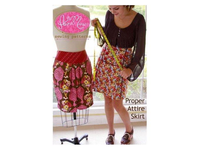 střih na sukni Proper Attire Skirt