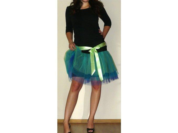 Tylová sukně návod a střih