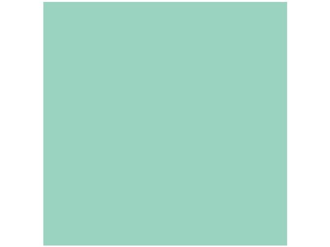 Jednobarevná metráž světle tyrkysová