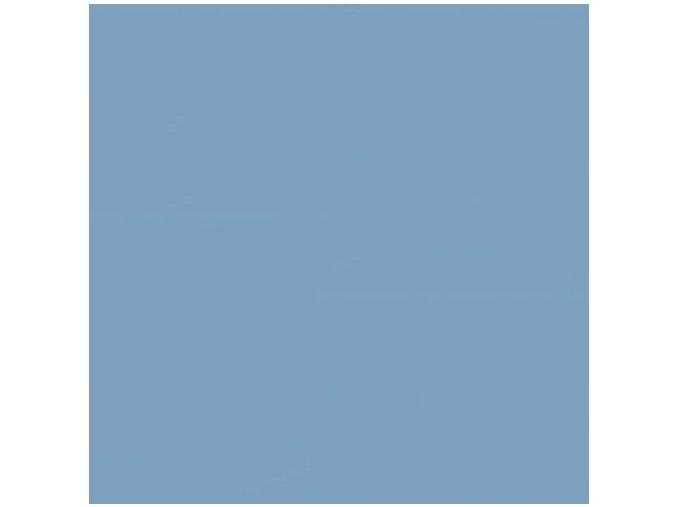 Jednobarevná metráž vojenská modrá