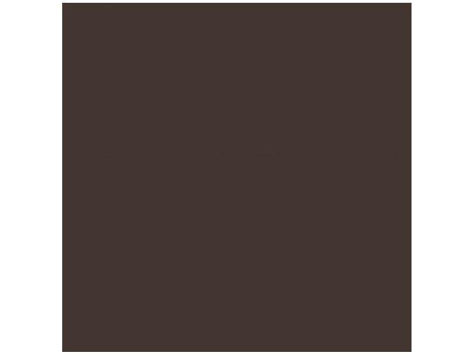 Jednobarevná metráž tmavá hnědá