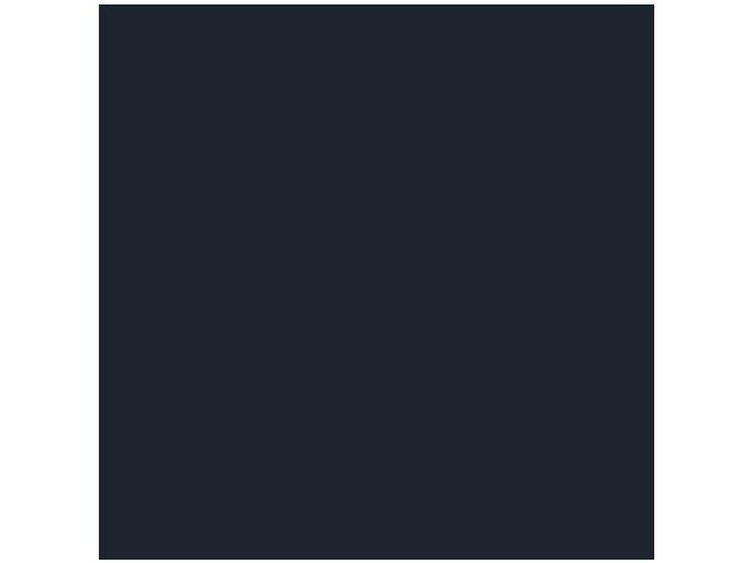 Jednobarevná metráž černá
