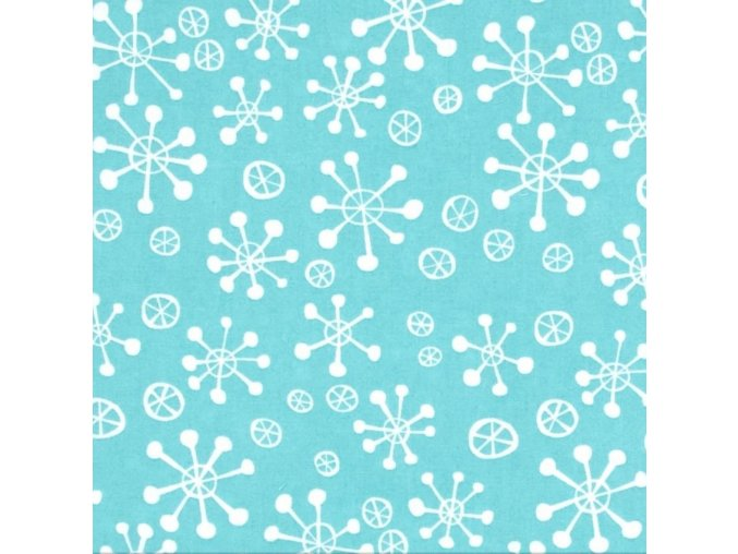 Snow Flakes in Peppermint
