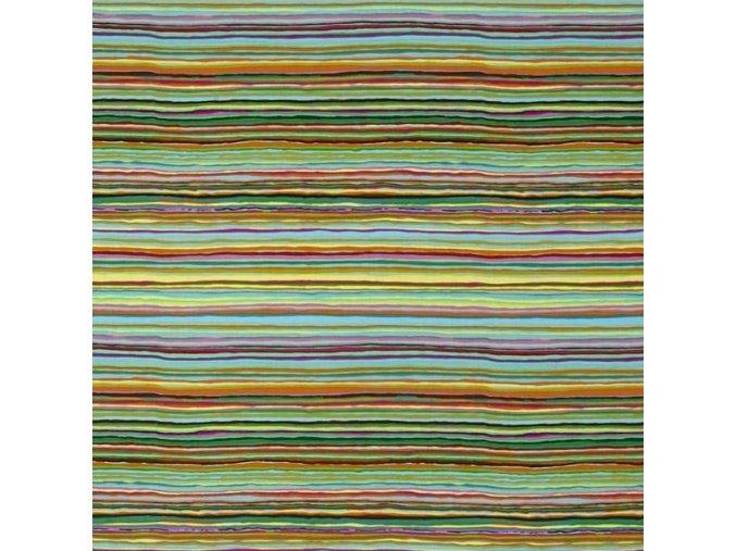 bavlněné plátno Strata in Spring, Kaffe Fassett