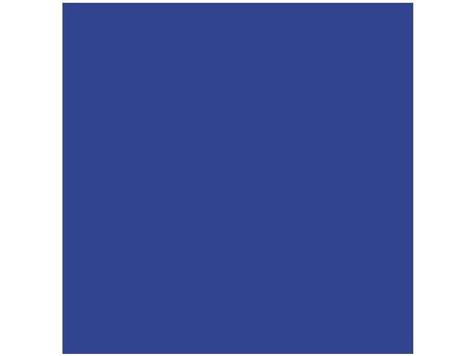 Jednobarevná metráž královská modrá