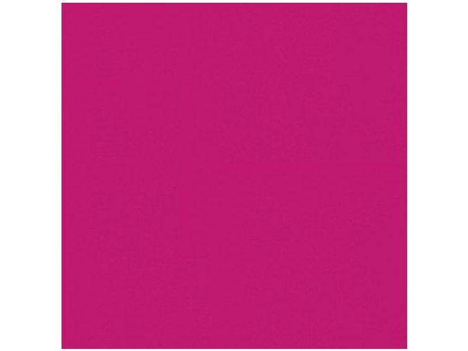 Jednobarevná metráž sytě růžová