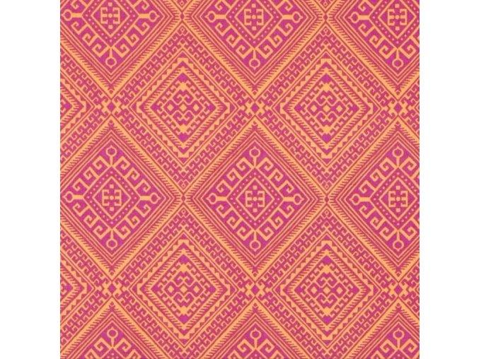 Ethnic Diamond in Lavender