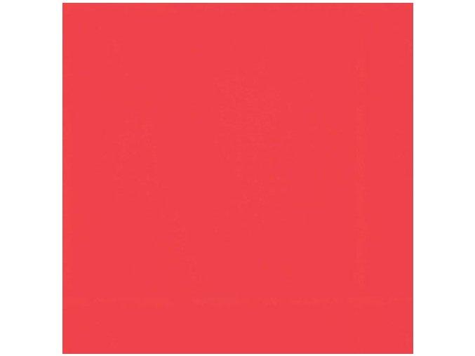 Jednobarevná metráž červená