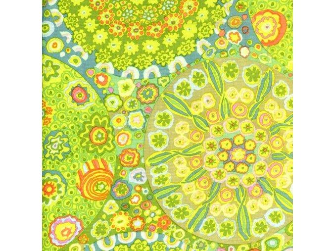 millefiore in green