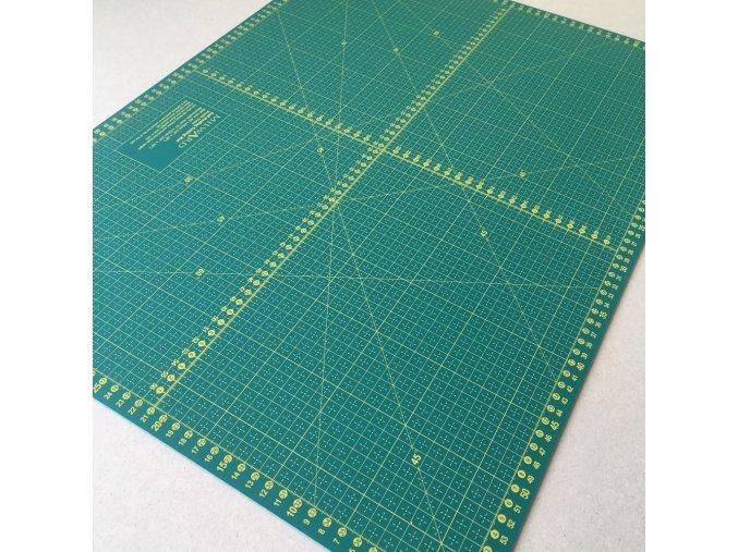 podložka na patchwork velká 90 x 60 cm 24 x 18 palců inch oboustranná samosvorná nejlepší na trhu
