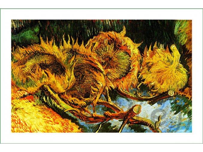 látkový panel Vincent Van Gogh (4) na patchwork i běžné šití obraz na látce nášivka