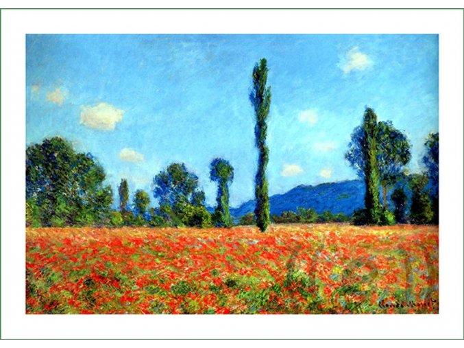 látkový panel na šití na patchwork prodej látek VierMa digitálně tištěný obraz Claude Monet (16)