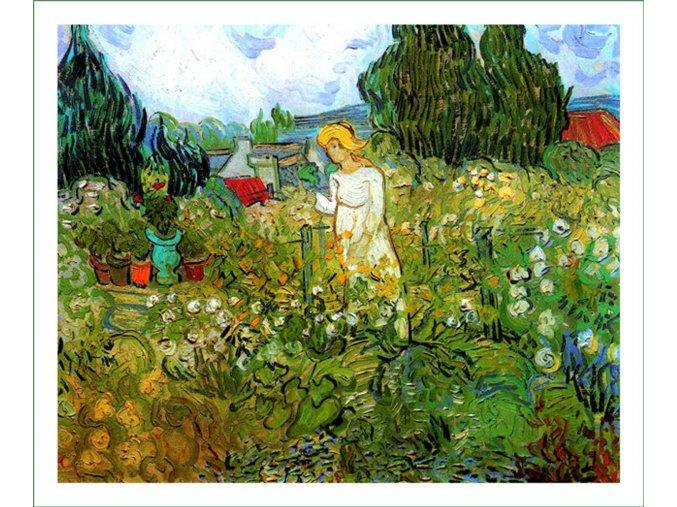 látkový panel Vincent Van Gogh (69) na patchwork i běžné šití obraz na látce nášivka