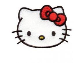 vyšívaná nažehlovačka Hello Kitty