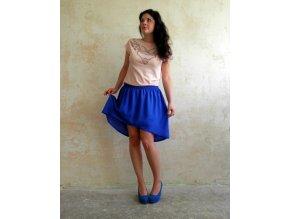 Návod na šifonovou sukni
