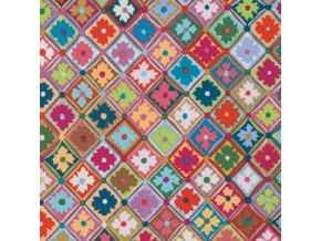 Antwerp Flowers in Multi