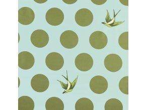 bavlněné plátno Free Fall in Sky, šířka 274 cm