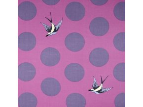bavlněné plátno Free Fall in Orchid, šířka 274 cm