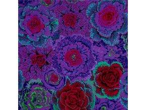 bavlněné plátno Brassica in Purple, Philip Jacobs