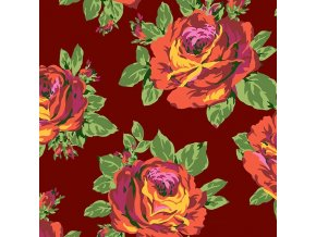 bavlněné plátno Rose Lore in Amber, Amy Butler