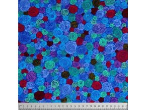 Kaffe Fassett, Rolled Paper in Blue