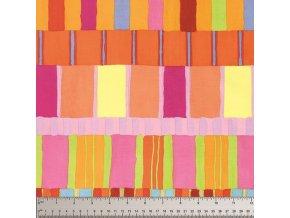Layered Stripe in Orange