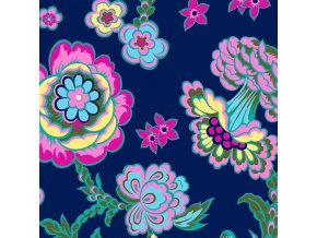 CPAB0009 INDIG Midnight Bloom in Indigo