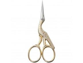 nůžky na vyšívání čáp 9 cm vyšívací nůžky