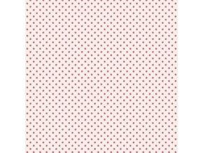 malé puntíky růžové